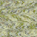 Le fond d'art abstrait de jaune de vert olive de modèle de zigzag, bronze, sombre, basané, couleur tend image libre de droits