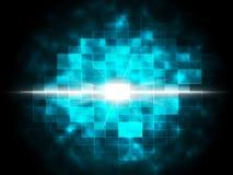Le fond d'explosion d'étoile montre la destruction de Celestial Body Photographie stock