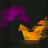 le fond d'image des flèches 3d a rendu Chante des flèches Photos libres de droits