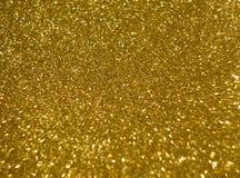 Le fond de l'éclat d'or de texture image stock