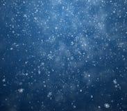 Le fond de l'hiver Photo stock