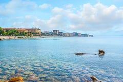 Le fond de la mer rocheux Photo libre de droits