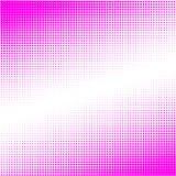 Le fond de, les points pourpres de différentes tailles ont la densité différente sur le blanc illustration de vecteur