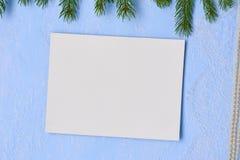 Le fond de Noël a amorcé le carton pour peindre sur le backgr Photos stock