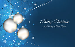 Le fond de Noël et de nouvelle année wallpaper pour la carte de voeux Photo stock