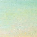 Le fond de peinture à l'huile, rose lumineux de jaune de bleu d'outre-mer, turquoise, grande brosse frotte des couleurs en pastel Photo libre de droits