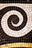 Le fond de plancher de mosaïque de Galerie Vivienne a couvert le passage à Paris Photographie stock