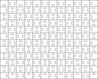 Le fond de puzzle facile remettent à la côte Images stock