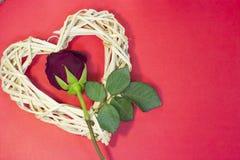 Le fond de StValentine rouge Photos stock