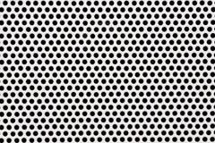 Le fond de technologie avec le cercle a perforé le gril de texture de haut-parleur photos libres de droits