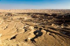 Le fond de texture de paysage de criques de vallée de montagnes de désert scen Photo libre de droits
