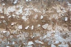 Le fond de texture du mur d'adobe Photographie stock libre de droits