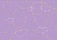 Le fond de Valentine Images stock