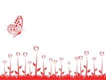 Le fond de Valentine Image stock