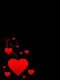 Le fond de Valentine Photographie stock libre de droits