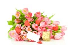 Le fond de Valentine Image libre de droits