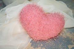 Le fond de vintage avec romantique entendent pour le jour de valentines Images stock