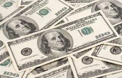 Le fond du dollar Photo libre de droits