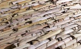 Le fond du papier carbonisé Photo libre de droits