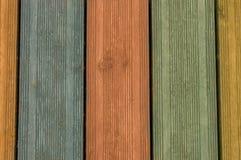 Le fond en bois vide vide, surface foncée peinte de table, texture en bois colorée embarque avec l'espace de copie, planches de v Photographie stock libre de droits