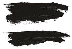 Le fond et les lignes élevés de vecteur d'abrégé sur détail de peinture d'éponge ont placé 87 illustration stock
