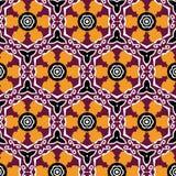 Le fond géométrique abstrait composé de vintage colore des briques Photographie stock libre de droits
