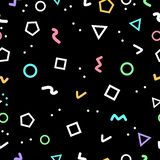 Le fond géométrique abstrait, formes de la géométrie a fait par des triangles illustration libre de droits