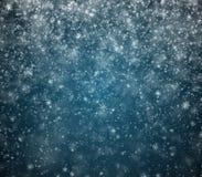 Le fond givré de nouvelle année d'hiver Photos libres de droits
