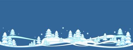 Le fond heureux d'hiver, bannière, Joyeux Noël, arbre de nouvelle année, carte postale, modèles conçoivent, nouveau, 2019 illustration stock