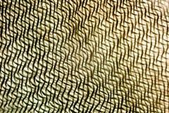 Le fond illusoire géométrique abstrait du tissu filète le macro Photo libre de droits