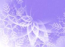 Le fond lilas FO de Noël conçoivent Photo stock