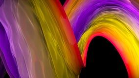 Le fond lumineux abstrait avec l'illusion visuelle de l'effet doux, 3d rendent se produire d'ordinateur illustration de vecteur