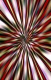 Le fond lumineux coloré des rayures de couleur diverge du milieu aux bords Images libres de droits