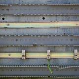 Le fond métallique de modèle de texture photographie stock