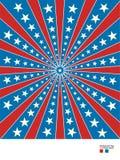 Le fond marque l'Américain Illustration Stock