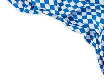 Le fond oktoberfest de drapeau bavarois image stock