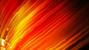 Le fond orange lumineux avec beaucoup de lignes incurvées et la lumière, le fond abstrait moderne généré par ordinateur, 3d rende illustration de vecteur