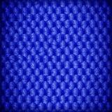 Le fond ou la texture bleu de textile de fibre Photographie stock libre de droits