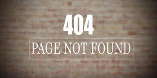 Le fond pas a trouvé ou ne travaillant pas photographie stock libre de droits