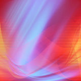 Le fond rouge et bleu d'abrégé sur satin raye la texture, fond de valentne avec des effectts d'éclairage Image libre de droits
