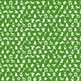 le fond sans couture de Noël se compose des icônes illustration de vecteur