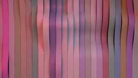 Le fond se composant des rayures colorées, 3d rendent Photographie stock