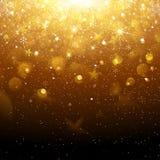 le fond soit peut illustration d'or de conception de Noël a utilisé le votre Image libre de droits