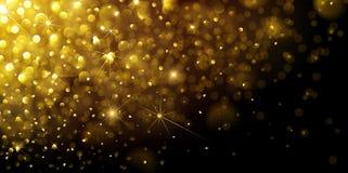 le fond soit peut illustration d'or de conception de Noël a utilisé le votre Photos stock