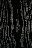 Le fond vertical avec du bois noir veiné a donné à la planche une consistance rugueuse Photo libre de droits