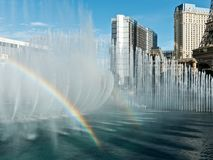 Le fontane di Bellagio Fotografia Stock Libera da Diritti