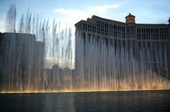 Le fontane di Bellagio Fotografie Stock
