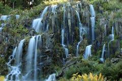 Le fontane nella montagna parcheggiano in Cassel Wilhelshoehe Immagini Stock