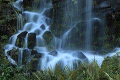 Le fontane nella montagna parcheggiano in Cassel Wilhelshoehe Immagine Stock