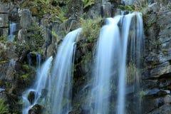 Le fontane nella montagna parcheggiano in Cassel Wilhelshoehe Immagini Stock Libere da Diritti